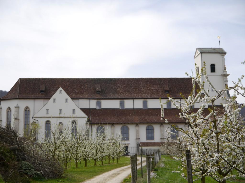 Kloster Mariastein in der Schweiz im Jura